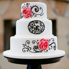 Những mẫu bánh cưới lạ mắt cho ngày trọng đại của bạn trong tháng 10