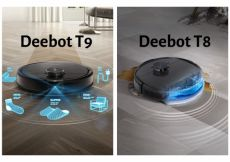 So Sánh Máy Hút Bụi Thông Minh Ecovacs Deebot T9 và T8 - Những Tính Năng Vượt Trội