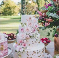 Tổng hợp 15 mẫu bánh cưới 4 tầng mới nhất 2018 cho tiệc cưới