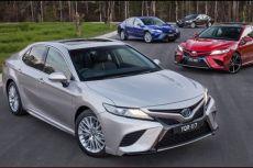 Toyota Camry 2018 về Đông Nam Á
